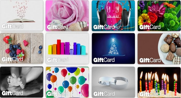 Types Of Gift Cards