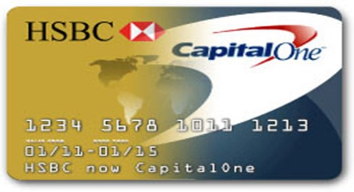 HSBC Credit Cards Become Capital One Credit Cards