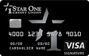 Star One Visa Signature Rewards Card