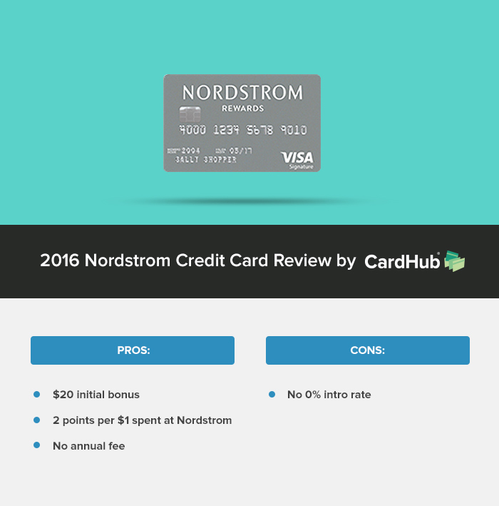 2016 Nordstrom Credit Card Review