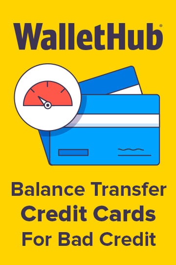 Balance transfer credit cards for bad credit reheart Image collections