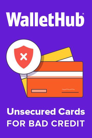 2019s Best Unsecured Credit Cards For Bad Credit