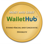 Cities with the Most and Least Ethno Racial and Linguistic Diversity Badge