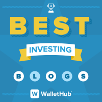 WalletHub Best Investing Blogs Badge