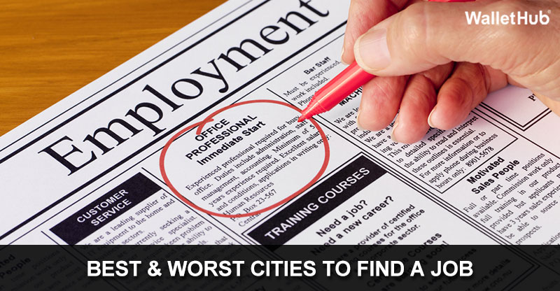 Image result for best cities to find a job wallethub