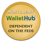 WalletHub States Most and Least Dependent on Federal Government