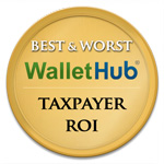 Wallet Hub Best Worst Taxpayer ROI