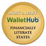 Wallet Hub Most and Least Financially Literate States