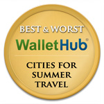 Wallet Hub 2014 Best Worst Cities for Summer Travel