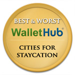 2014 Best and Worst Cities for Staycation
