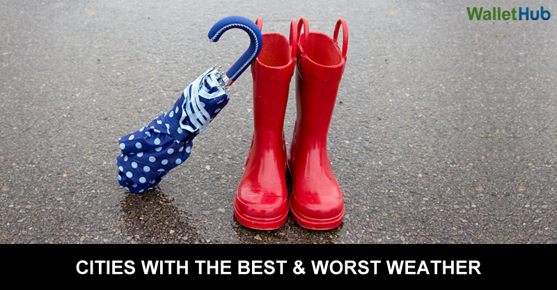 Cities with the best amp worst weather wallethub 174
