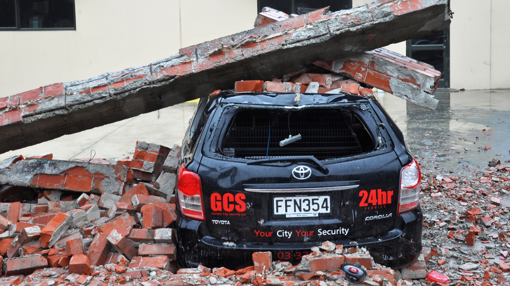 Comprehensive Car Insurance, after an Earthquake