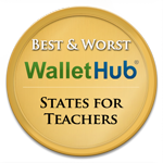2014 Best and Worst States for Teachers Badges