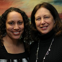 Debra Swanson and Llena Chavis