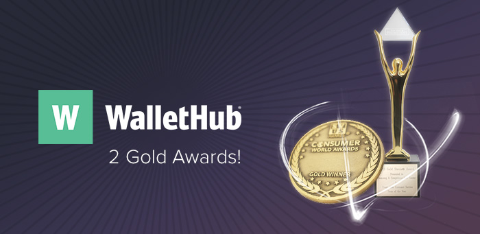 Wallethub Awards