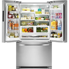 Kenmore 27.6 cu. ft. French Door Refrigerator - Stainless Steel