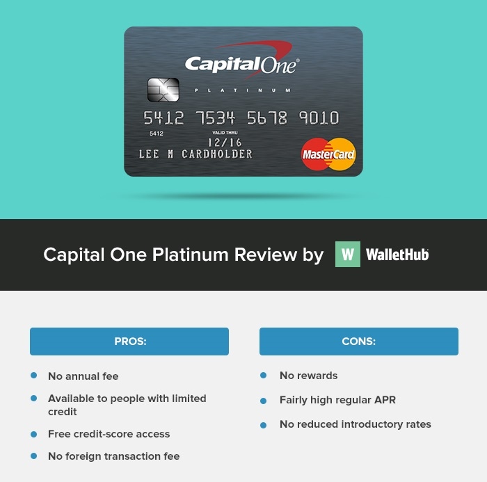 capital one platinum WH review