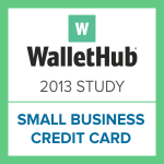 wallethub-2013-small-business-credit-card-study