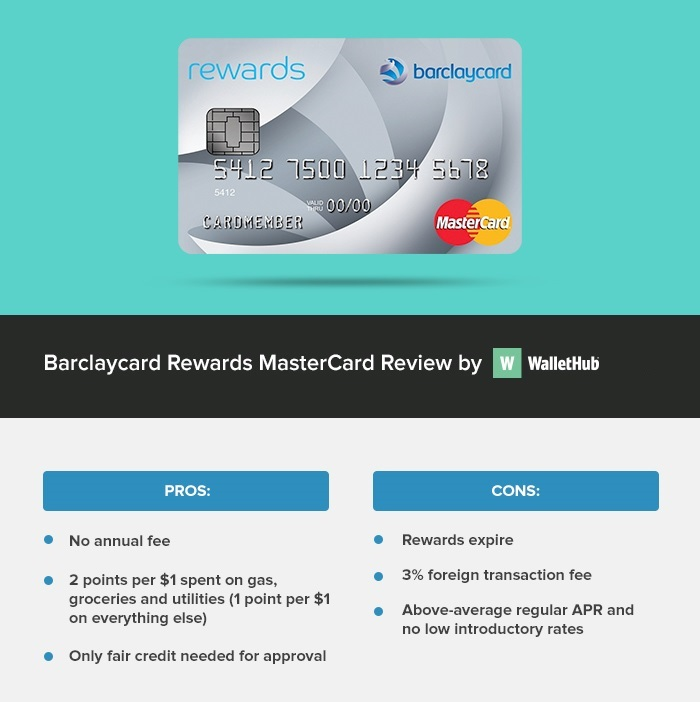 Barclaycard Credit Card Www Barclaycard Co Uk: 2018 Barclaycard Rewards MasterCard Review