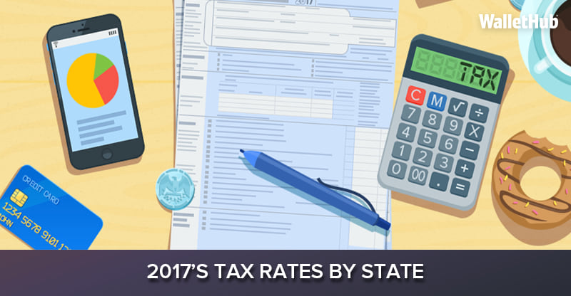 2017 S Tax Rates By State Wallethub 174