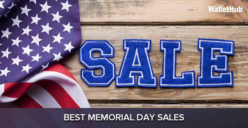 Memorial Day Car Sales 2017 >> 2017's Best Memorial Day Sales | WalletHub®