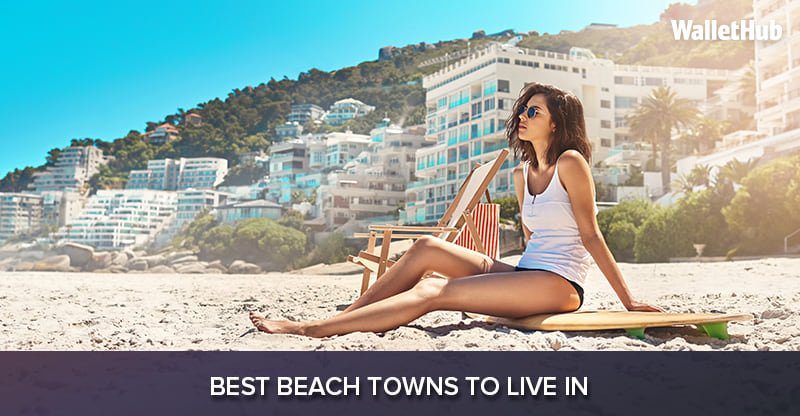Αποτέλεσμα εικόνας για WalletHub took a close look at 2017's Best Beach Towns to Live in