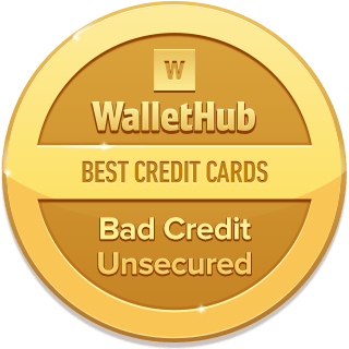 2019's Best Unsecured Credit Cards for Bad Credit