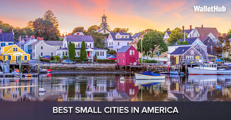 2017 s best small cities in america for Best city to leave in usa