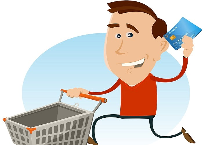how to do the real shopping cart trick for credit cards