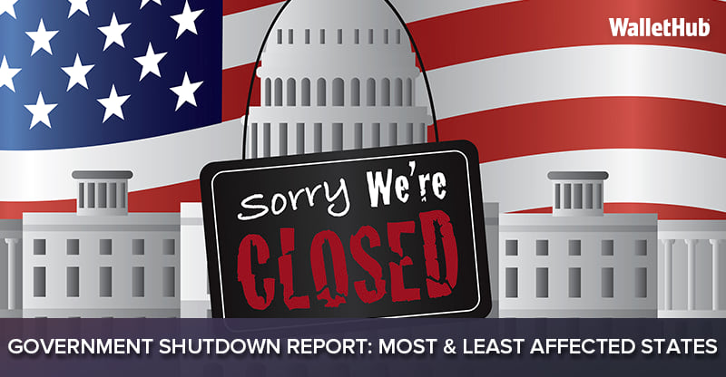 High Risk Car Insurance >> 2018 Government Shutdown Report: Most & Least Affected States