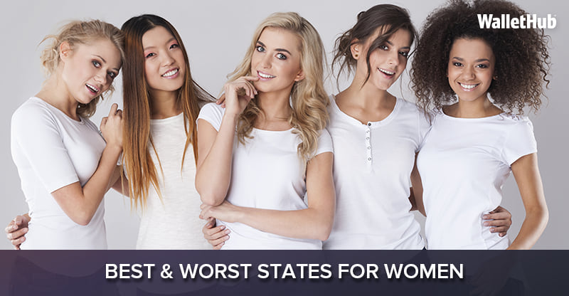 Image result for best and worst states for women