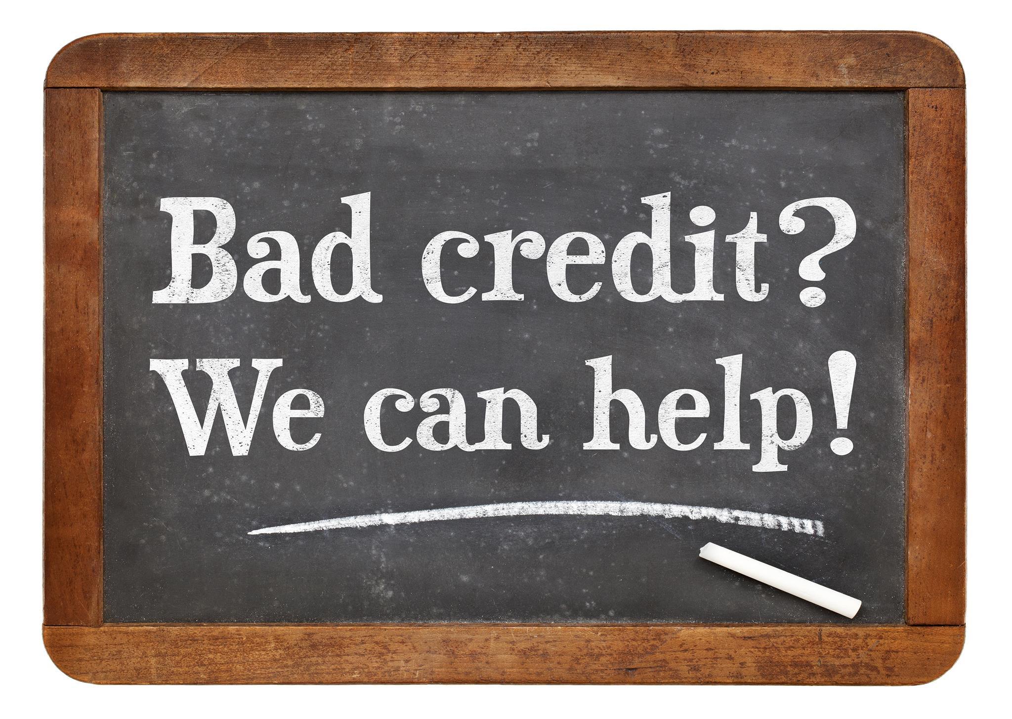 what is a bad credit score? score range & repair tips