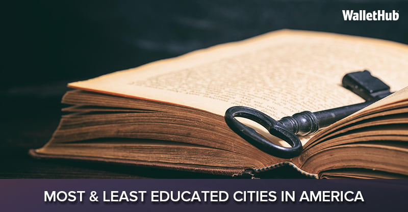 most least educated cities in america
