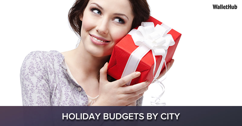 2018 holiday budgets by city