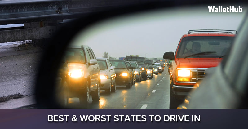 Best & Worst States to Drive in