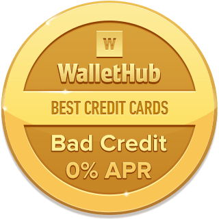 Best 0 APR Credit Cards for Bad Credit