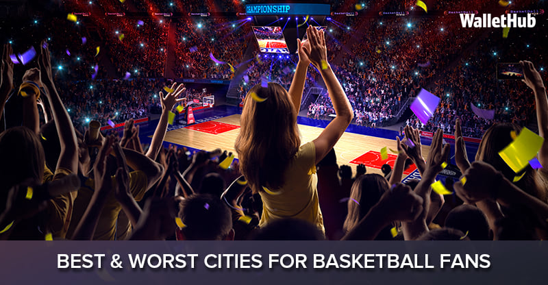 Best & Worst Cities for Basketball Fans