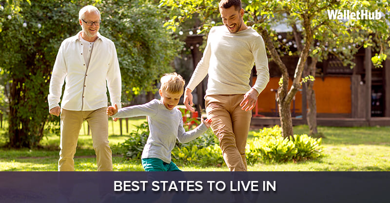 2019's Best States to Live In